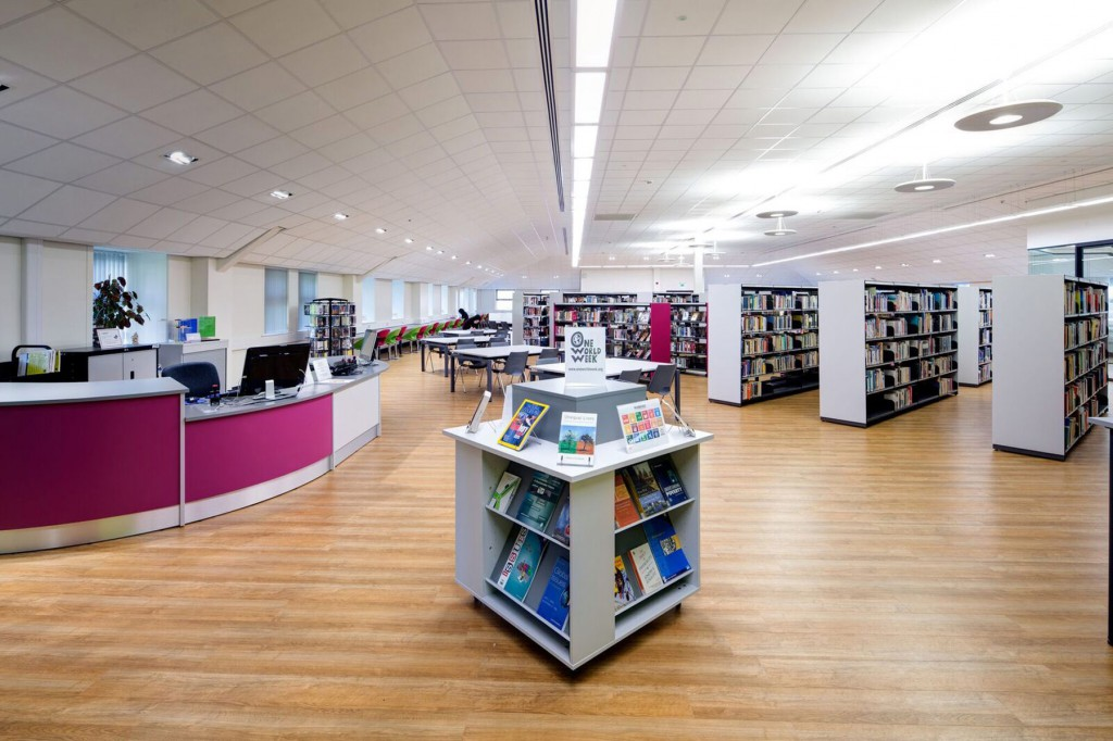 International Library Spotlight:  Holy Cross College, Bury, UK