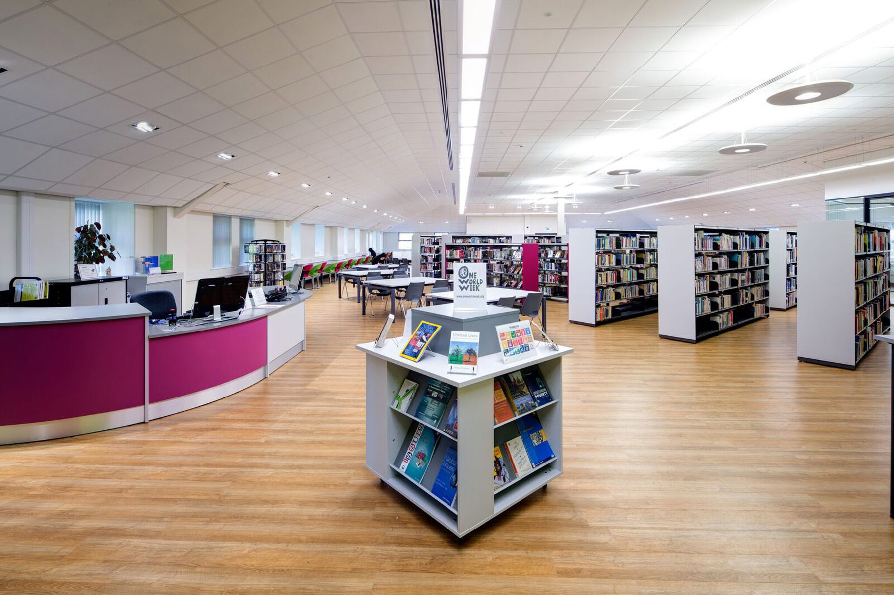 New Academic Library And Study Space Promotes University Style Learning At Holy Cross College