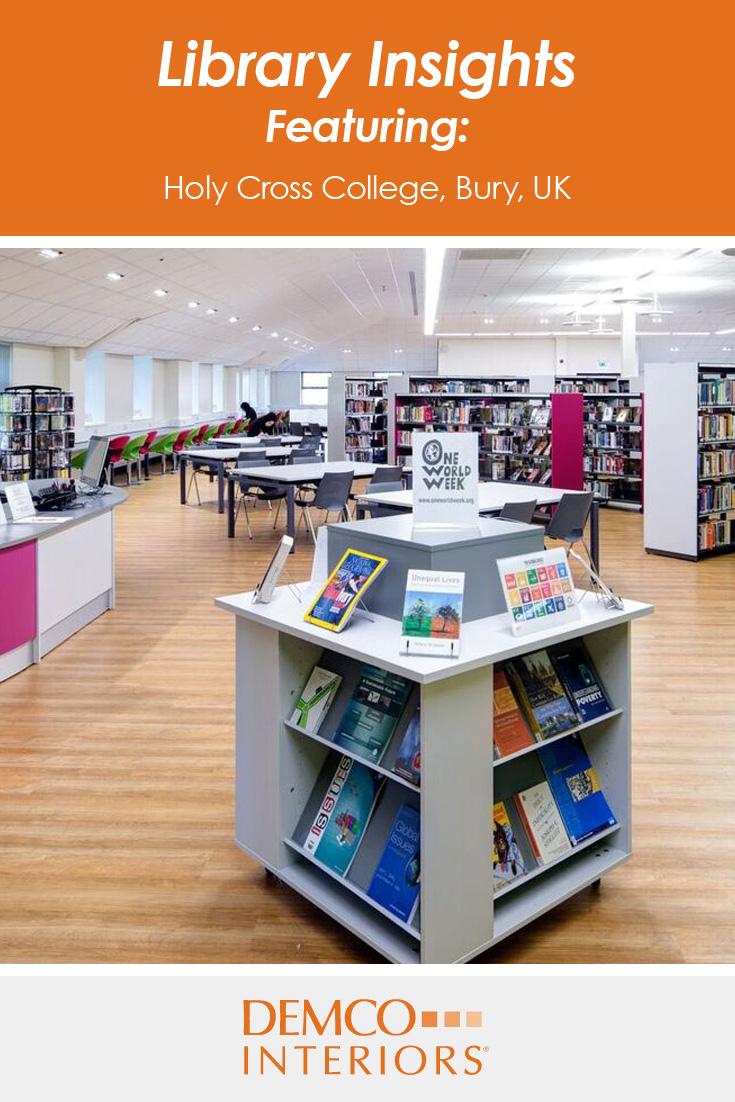 Home International Library Spotlight Holy Cross College Bury UK