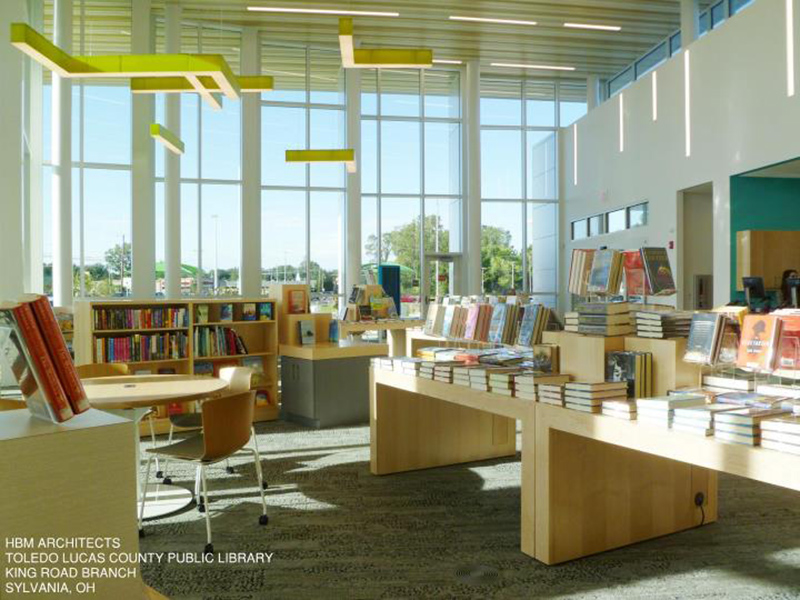 High Quality Top 5 Library Design Trends