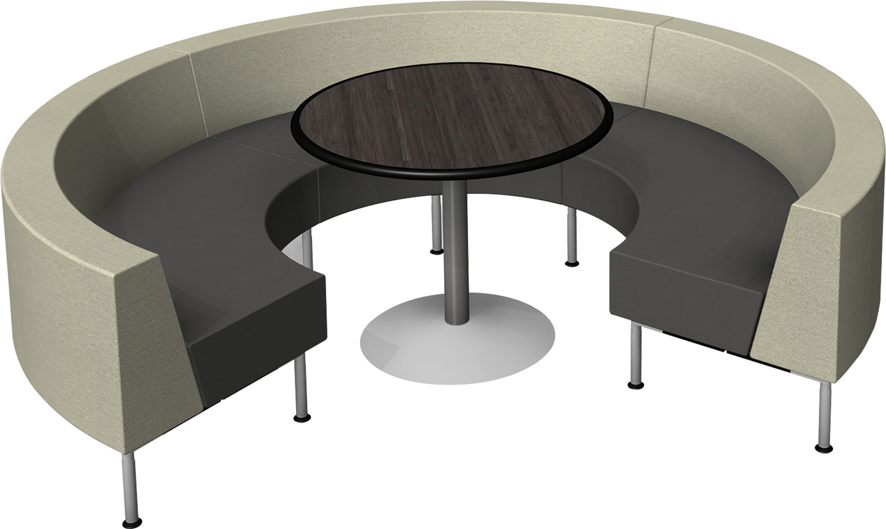The Lower Tiered Backs Offer Nice Solutions For Reception Seating And Open  Spaces With The S Configuration.