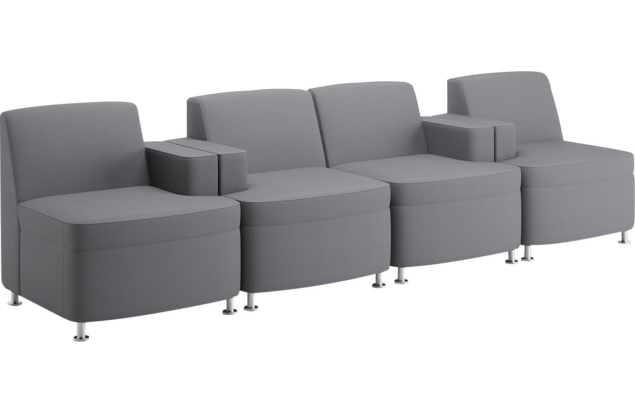 JSI Moto Inline Chairs