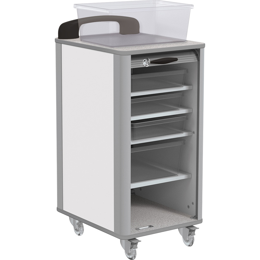 Makerspace Mobile Tub Storage Carts