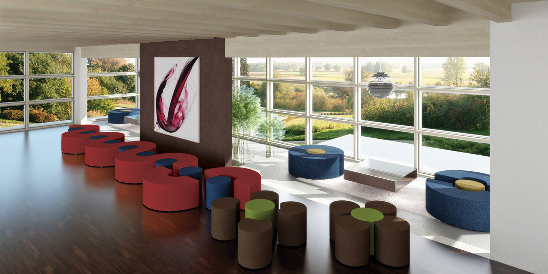 Palmieri Bloom Lounge Seating