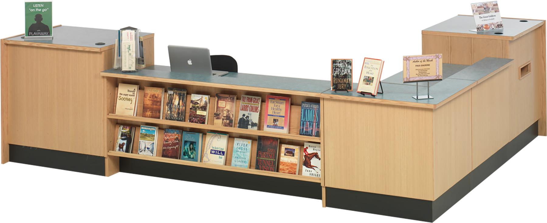 Demco® LibraCraft® Circulation Desks