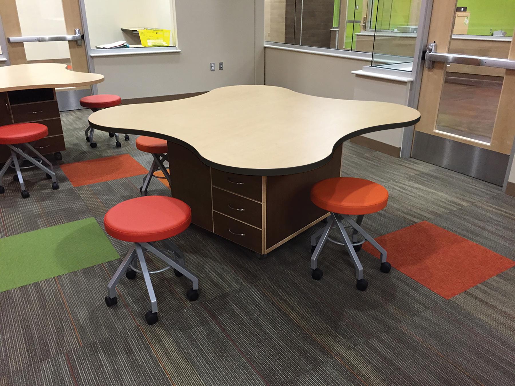 MediaTechnologies® Clover Tables