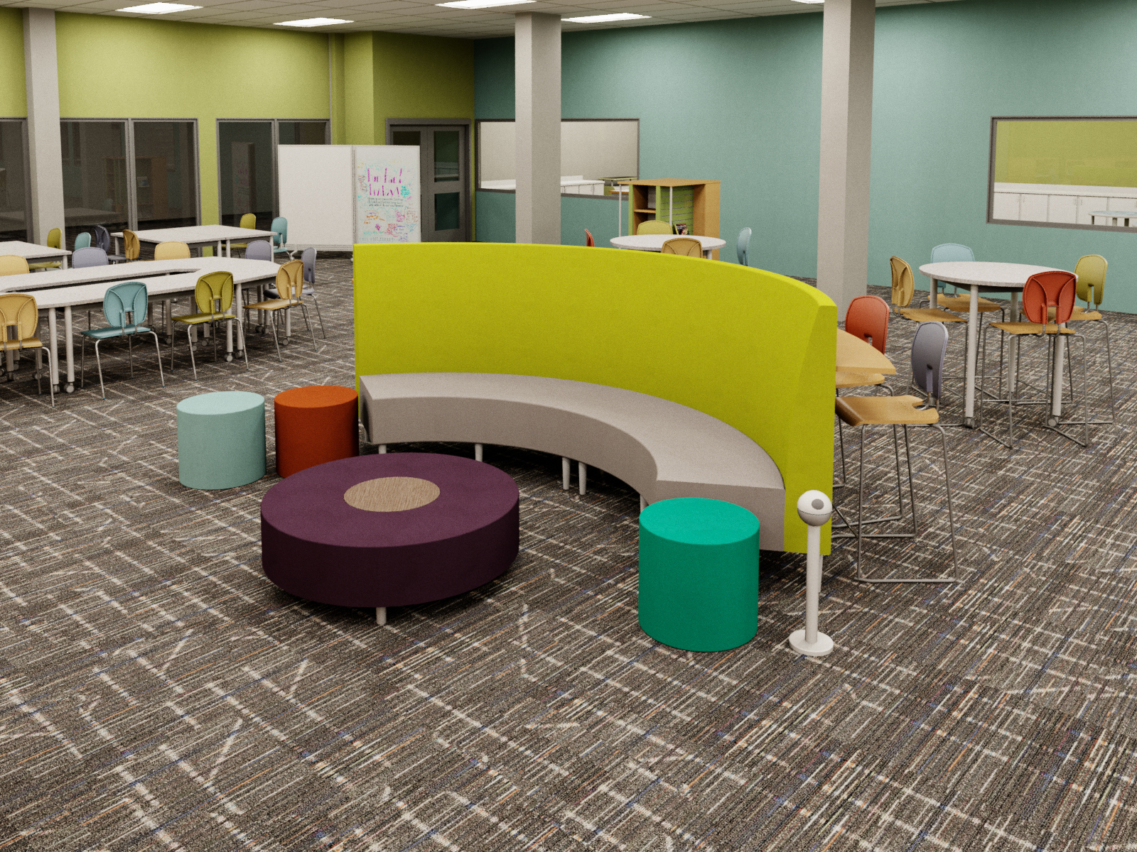 Commons learning environment