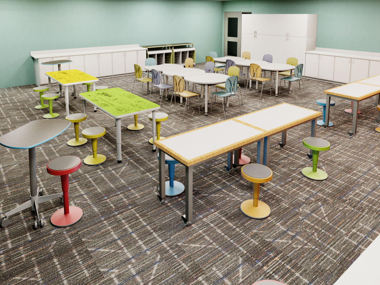 Flexible makerspace learning environment