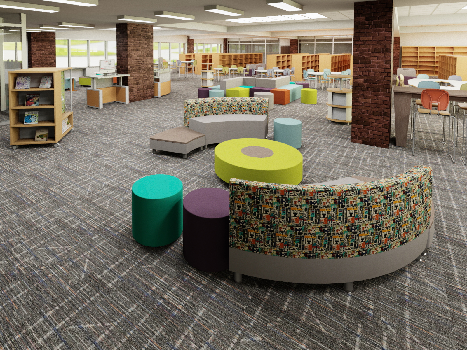 Library learning environment