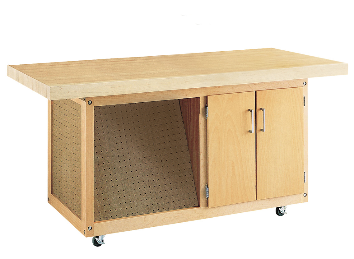 Diversified Woodcrafts Mobile Work Bench