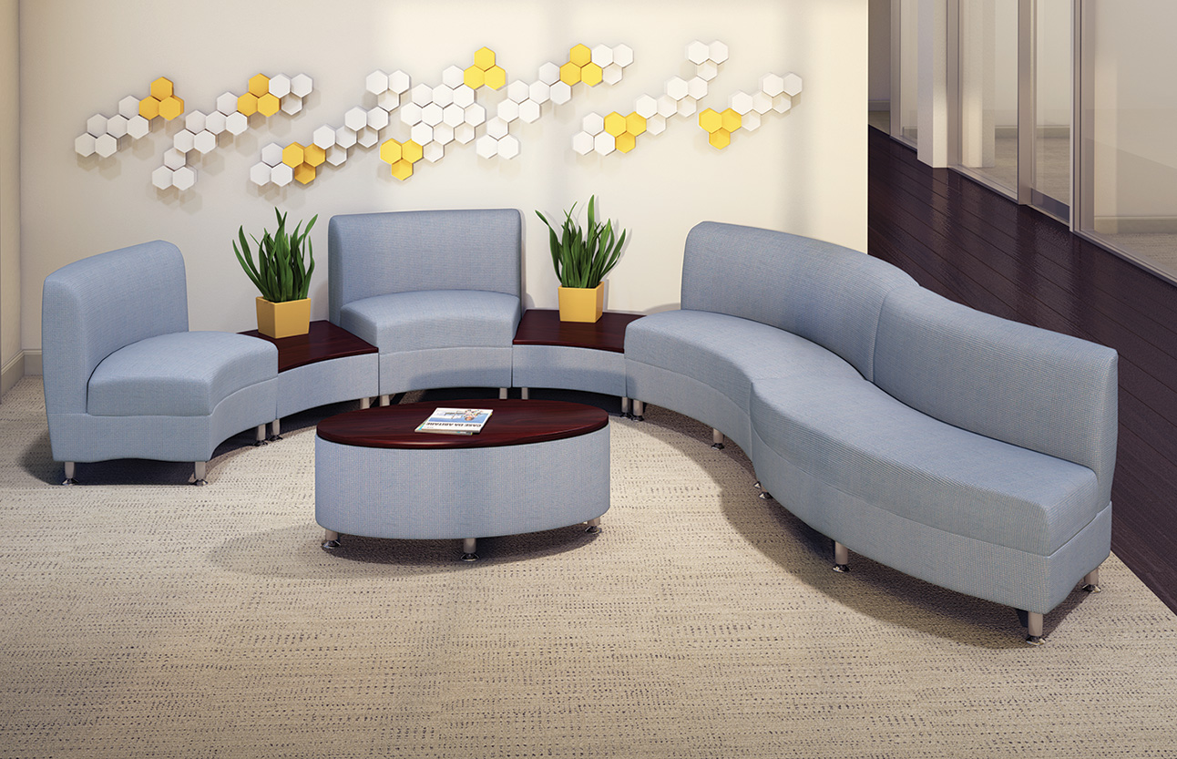 HPFI® Accompany Curve Lounge Furniture