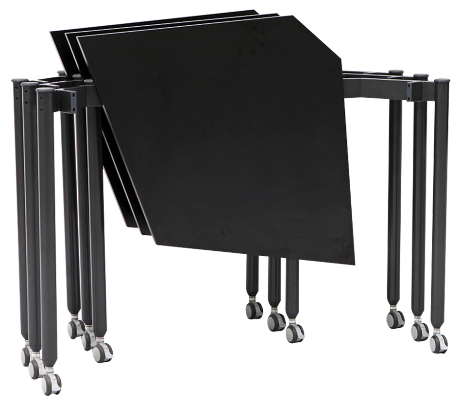 Muzo Tall Kite® Mobile Flip Tables—Kite Shape