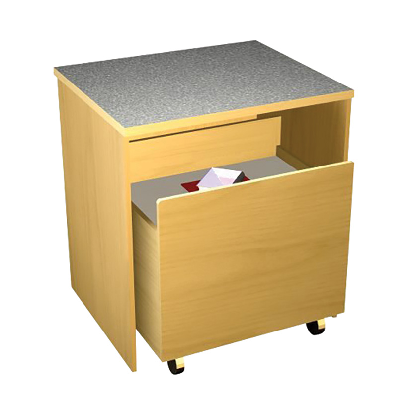 Book Return Carts for Gaylord Americana® CS Circulation Desks
